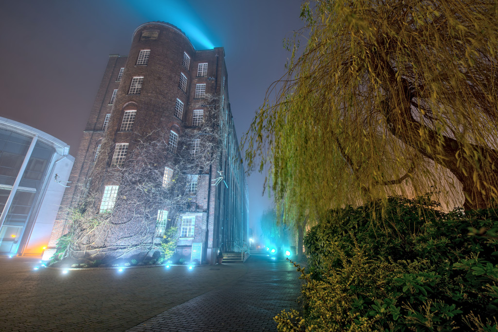 2014.01.20 - Foggy Norwich at Night - St James Mill-02 - full