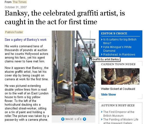 has-banksy-been-seen